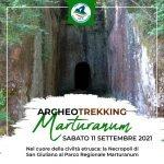 Post Archeotrekking per la visita del parco regionale marturanum