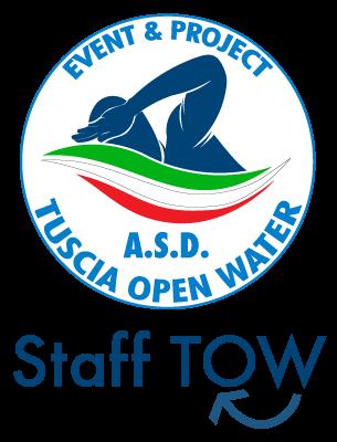 Il logo dello Staff di Tuscia Open Water per il volontariato.