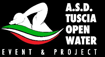 Logo dell'associazione sportiva dilettantistica tuscia open water